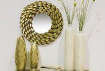 Espejos / Tantos espejos como gustos, ideales para dar personalidad en la decoración.