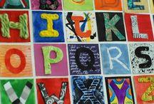 Lezen * Letters / Letter activiteiten