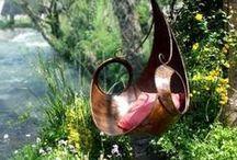 Garden delights / Eye candy gardens dreams wholes in walls green delicious / by Simon Buck
