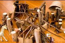 Hoeken * Bouwen * Construction / Alles voor een originele en leerzame bouwhoek