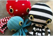 Knutselen * Zeedieren * Sea animal craft