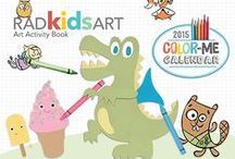 RADkidsART Activity Books / Art & Activity projects for kids of all ages!