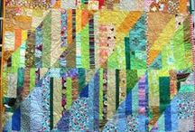 Quilts / Colourful, quilts,  small patchwork projects