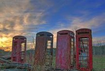 Calling Home / Telephone Boxes and Post boxes