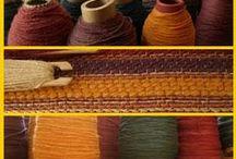 I miei tessuti / tessuti a telaio tradizionale