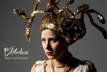 Medusa - Performance / Dans Makas is a Design Studio for  Dance - Theatre - Movie - Commercial Costume & accesories design and manufacture & Decor Design