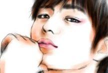 Digital ART [Sketch Guru App] #INFINITE / created by @ratnayeol (Little Lumut - online STORE)  Note: FOR SALE