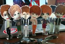 Paper Doll n Pop-Up Card #INFINITE / created by +Ratna Har (Little Lumut - online store)  Note: prices can change at any time...^^  Thanks a lot for shopping
