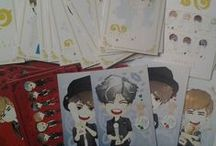 CARD Fanart #INFINITE / created by @ratnayeol (Little Lumut - online STORE) Note: prices can change at any time... Welcome to our Store! and happy shopping...^__^ >> tokopedia.com/littlelumut