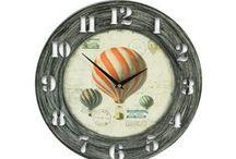 Relojes / Siempre útiles y a la vez decorativos.
