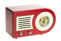 Radios y gramófonos / Radios estilo vintage y gramófonos.