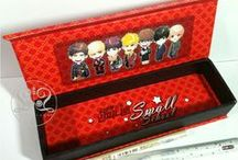 Pencil Box #INFINITE / created by @ratnayeol (Little Lumut - online STORE)  Note: prices can change at any time... Welcome to our Store! and happy shopping...^__^