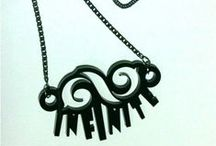 Necklace UNique #INFINITE / Necklace INFINITE created by Little Lumut