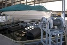 Lifted / Boat lifts, davits, boat lift parts, boat hoists, PWC lifts, jet ski lifts, electric winches, boat dock accessories and boating accessories for saltwater and freshwater boating.