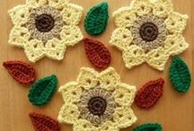 hand made / croched - knitting- krafts / by Hilde Bang