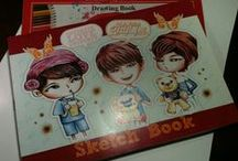 Sketch Book #INFINITE / Sketch Drawing Book to created your Manual Drawing