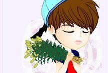 Nam Woohyun   INFINITE-03   FANART / created by ratnayeol / Little Lumut
