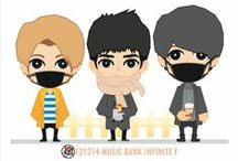 INFINITE Fanart / created by ratnayeol / Little Lumut