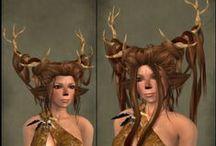 faun hairstyles/wig ideas