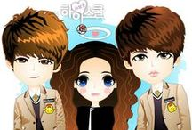 Hi! School: Love On / fanART created by: +Ratna Har/Little Lumut