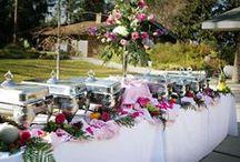 Creative Buffet Ideas / Ideas for creating a beautiful party buffet table