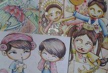 Illustration Drawing / Created by Ratna Har - @ratnayeol