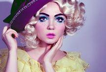 Doll themed photoshoot.