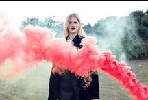 Smoke Bomb Photoshoot