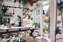 • f l o r i s t ' s / / botanical cafe