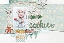 Scrapbook layouts I love / Scrapbook layouts ideas and inspiration  / by Lisa Barton The Midlife Midwife