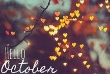 Autumn inspiration / Autumn themed inspiration & ideas / by Lisa Barton