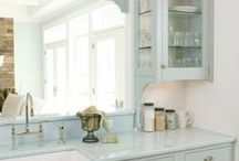 Kitchen ideas & inspiration / by Lisa Barton The Midlife Midwife