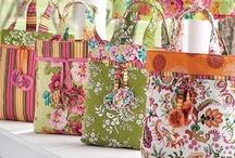 Tutoriels sacs, pochettes et corbeilles gratuits / by sylvie paszko
