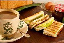 Tea toast Time . / Food