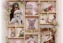 Handmade Printers trays, inchies, frame & wall art / Printers trays, inchies and handmade wall art  / by Lisa Barton The Midlife Midwife
