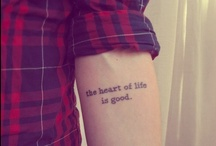 Under Skin  ♡ / Someday I'll have the courage. I think.
