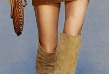 Skirts and Boots / Fashion