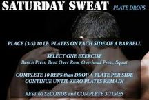 SATURDAY SWEAT WORKOUTS 1.0 / A collection of the weekend workouts by HUMANFITPROJECT for Men's Fitness Magazine. (Saturday's at 10AM EST)