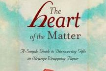 The Heart of the Matter: A Simple Guide to Discovering Gifts in Strange Wrapping Paper / How do we access the authentic self in order to live fulfilling, meaningful lives? In straightforward terms, Dr. Weissman's newest book explains a simple but extraordinarily powerful technique called the See, Feel, Hear Challenge that enables people to easily gain entry into the storehouse of their subconscious core beliefs. In the process, it cracks the coded messages that those beliefs release in the form of disease, suffering, addictions, unhappy relationships, and victimized circumstances.