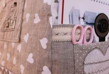 Sewing Basket . / Crafts