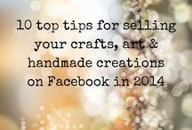 Marketing & sales tools for handmade crafts / Marketing & sales made easy to boost creative, craft & handmade business success. FREE '50 MARKETING IDEAS E-BOOK' at http://bit.ly/1gaACTs / by Lisa Barton The Midlife Midwife