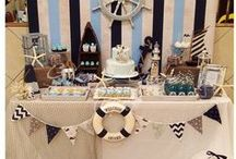 Nautical Party Themes / Decorate your party rom with nautical theme home decor