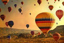 Hot air balloons / by Leila Jay