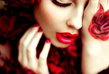 Red / Fashion and Fun Things.