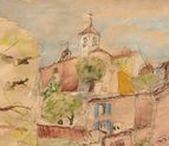AQUARELLE en PROVENCE / Atmosphere of Provence