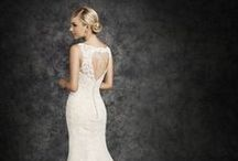 Ella Rosa for Bridal gowns. / These gorgeous dresses are now available in store. We just love how classic and elegant they are. The amazing fabrics and material combined with stunning beading and necklines make these dresses perfect for your special day.  www.darcyweddings.co.uk