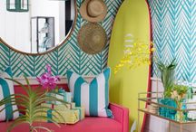Deco: Colourful bedroom