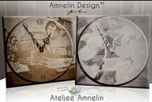 Finnish design - Home decor / Finnish design! Ateljee Amnelin creates decoration and gift products based on award winning photographer Johanna Amnelin's photos.  Every product is individually handmade in Salo, Finland.  The Design from Finland Mark guarantees the highest quality design clocks and thermometers.  Ateljee Amnelin also designs postcards, posters, bags, mugs and all kinds of aluminium products, all photographed and made in Finland.