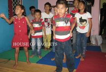 """HOUSE OF EAGLETS"" / VJM supports and runs orphans and orphanage in Indonesia. The kids dont have  neither parents nor relatives. VJM takes care of them and provide food ,education, shelter and love. You can be a part of it www.vjmcharities.com"