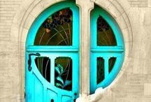 Doors and window pinning! / Hot, beautiful, strong colors,